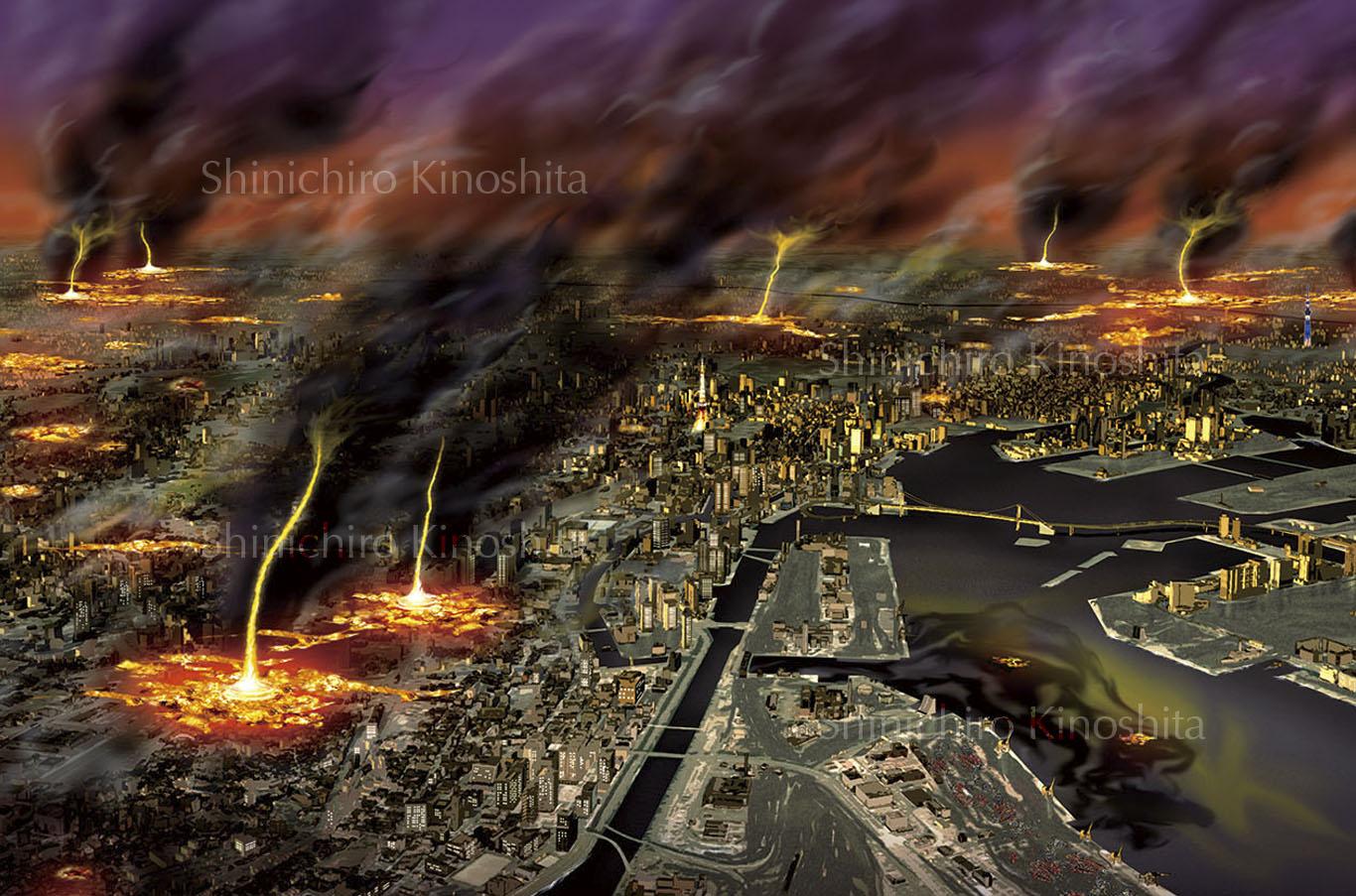 地震災害シミュレーション−なるほど知図帳「日本の自然災害、機器の対策」昭文社